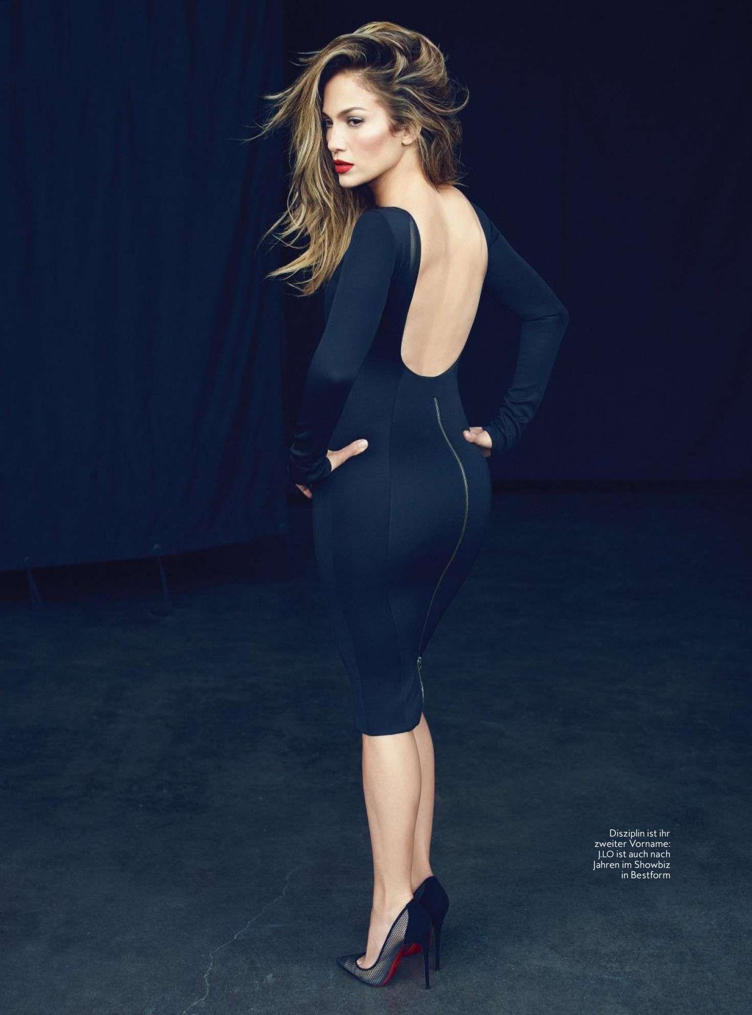 Jennifer Lopez: InStyle Germany 2018 -05 | Curves & Style | Pinterest