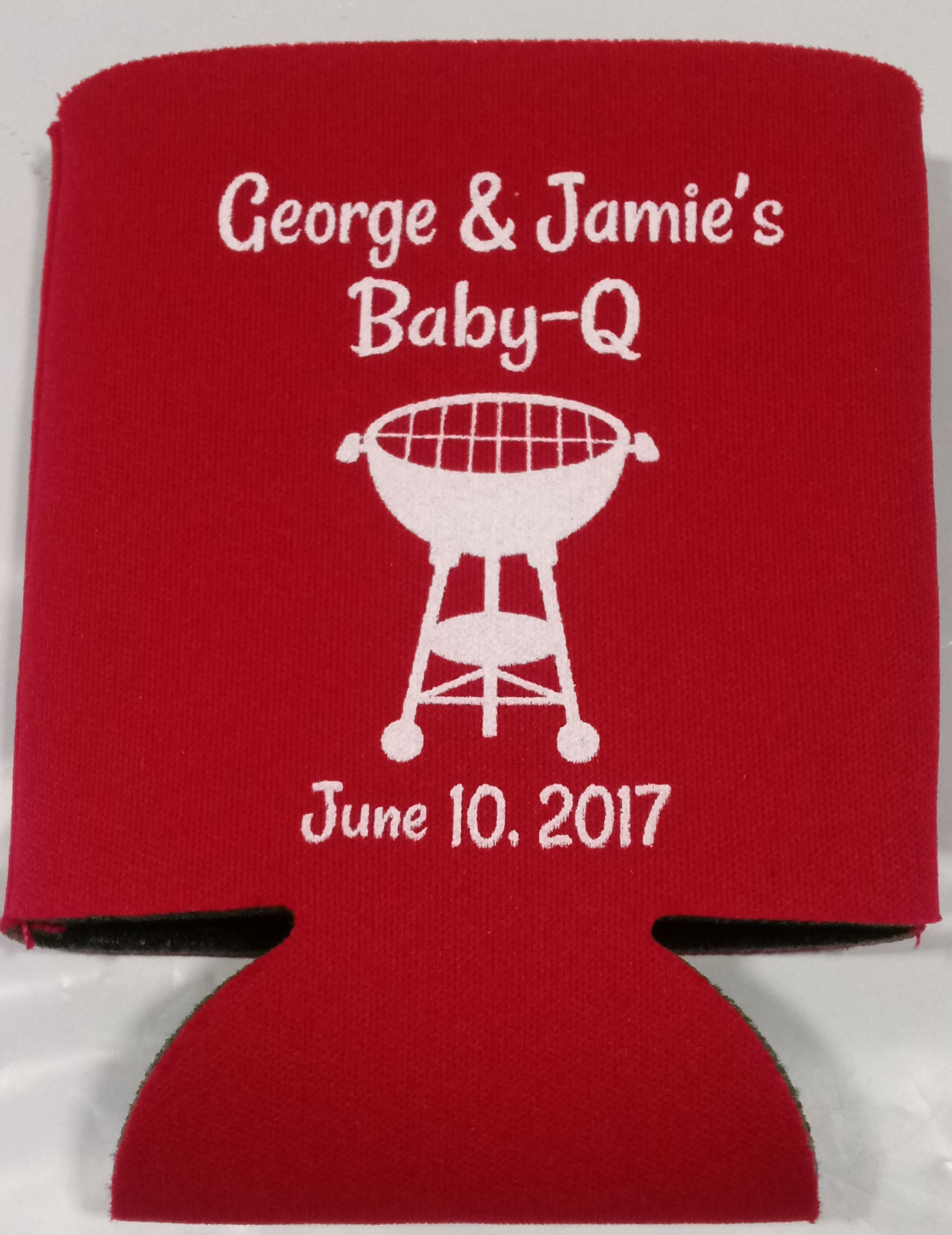 baby q baby shower party favors Can Coolers 1121791793