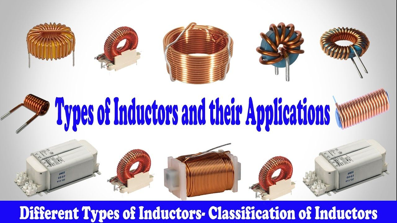 Inductors In Ac Dc Circuits Explained Electronic Circuit Projects Types Of And Their Applications Different