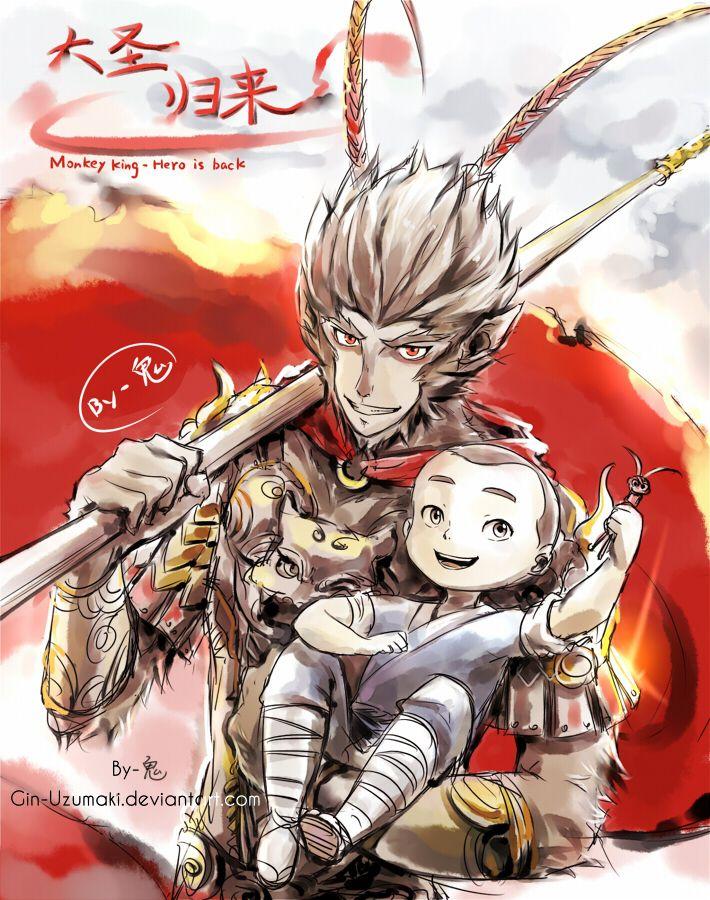 Monkey King the hero is back by GinUzumaki.deviantart