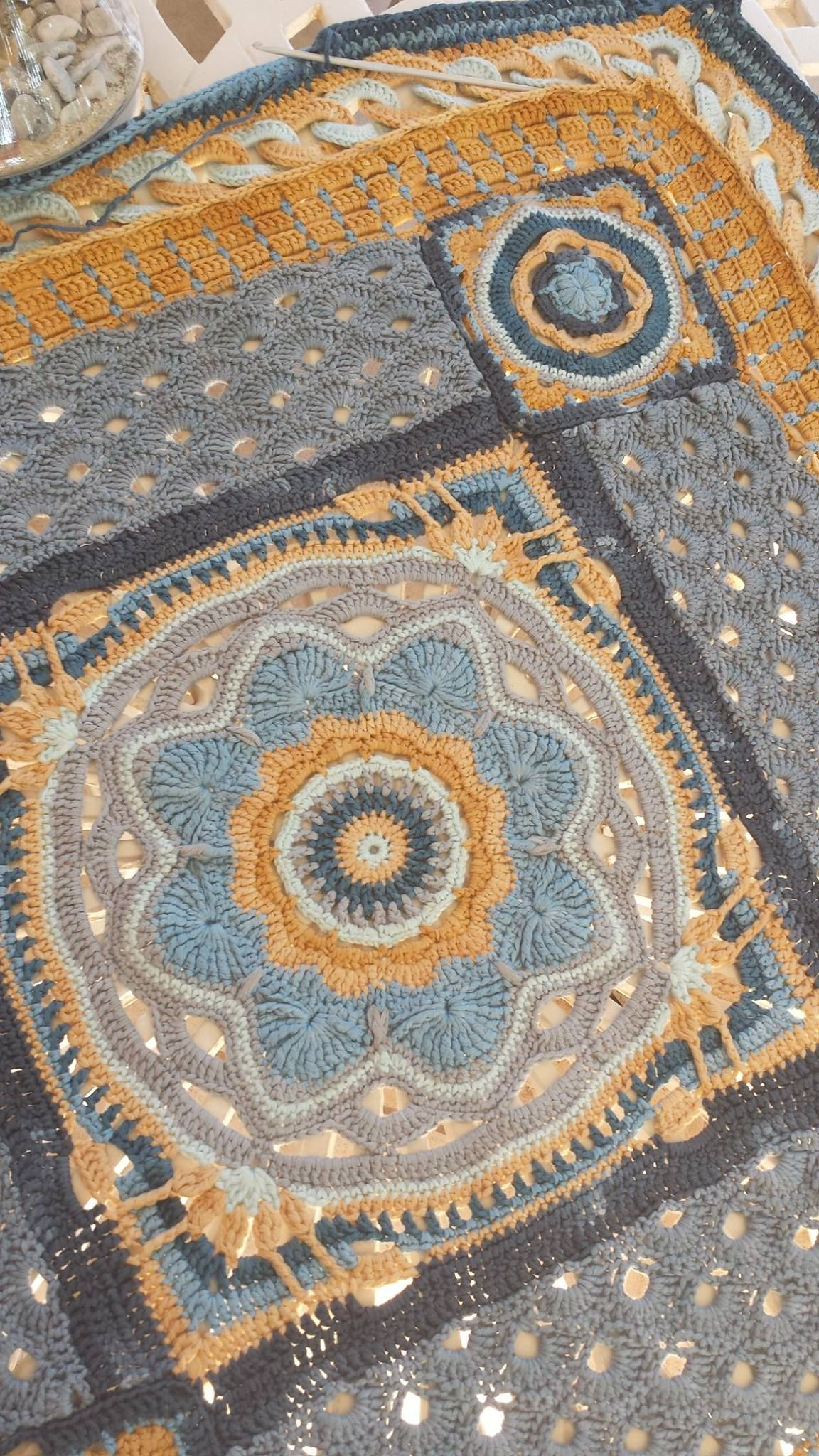 I Love Yarn CAL in the Moroccan Collection | crochet | Pinterest ...