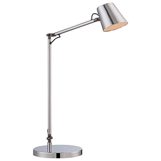 George Kovacs 174 Led Task Table Lamp In Chrome Task Lamps