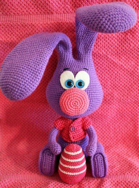 Pin von Karla Keffer auf Crochet | Pinterest | Häkelideen, Ostern ...