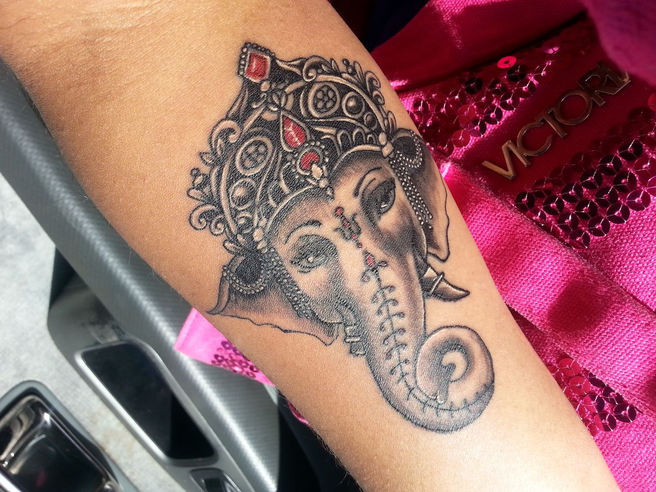 11 ganesha tattoo designs ideas and samples - Protector Against All Obstacles Ganesha Tattoo Hindu Elephant