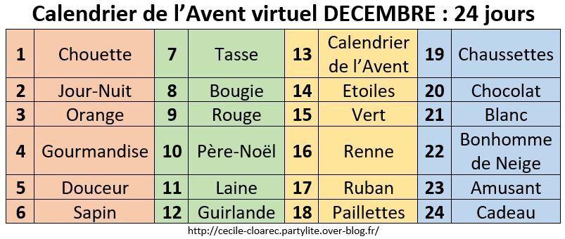 Calendrier Virtuel.Calendrier De L Avent Virtuel Jour 3 Orange Noel