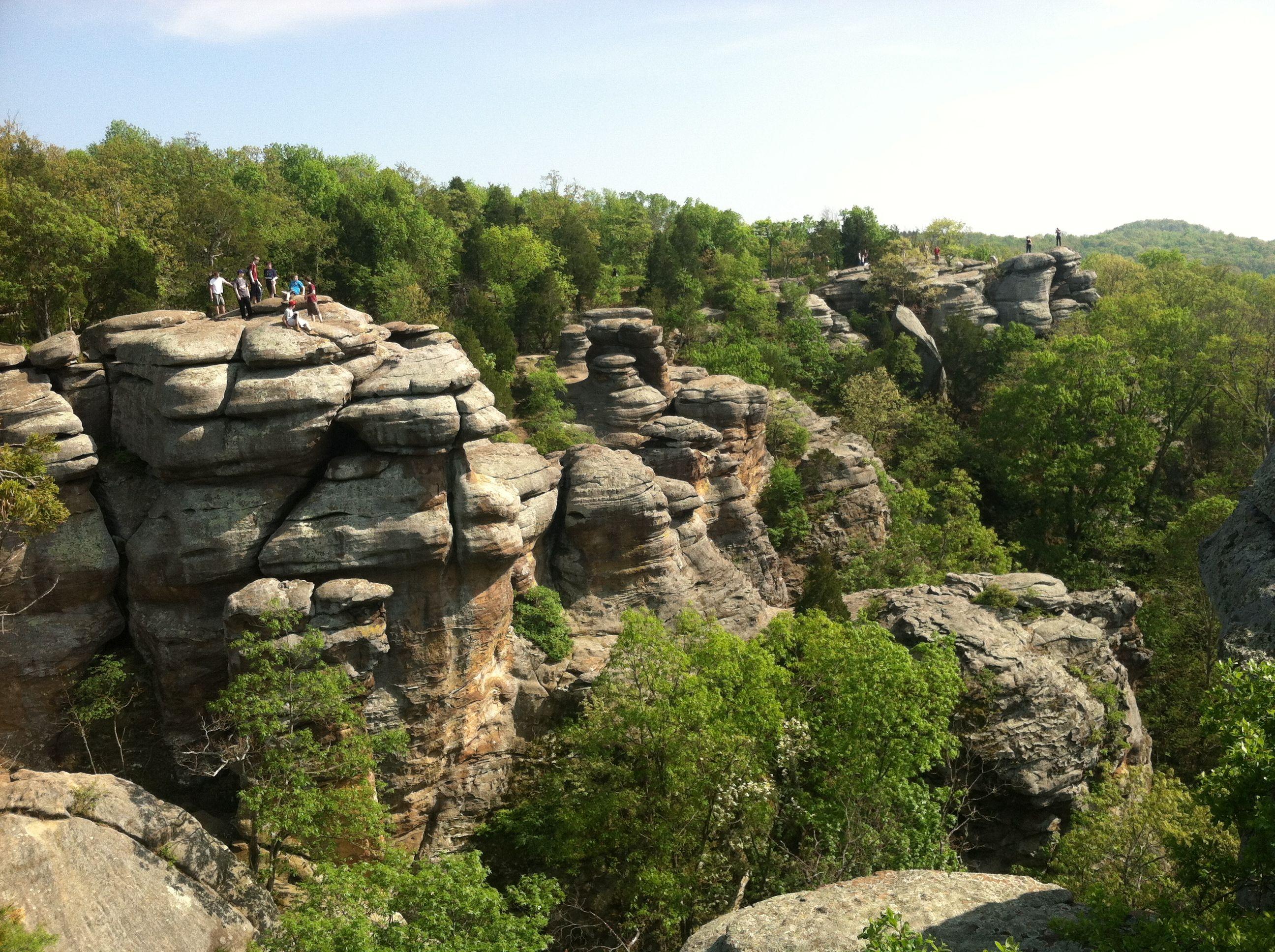 Garden Of The Gods ~ Harrisburg Illinois ~ Great Hiking In Southern Illinois