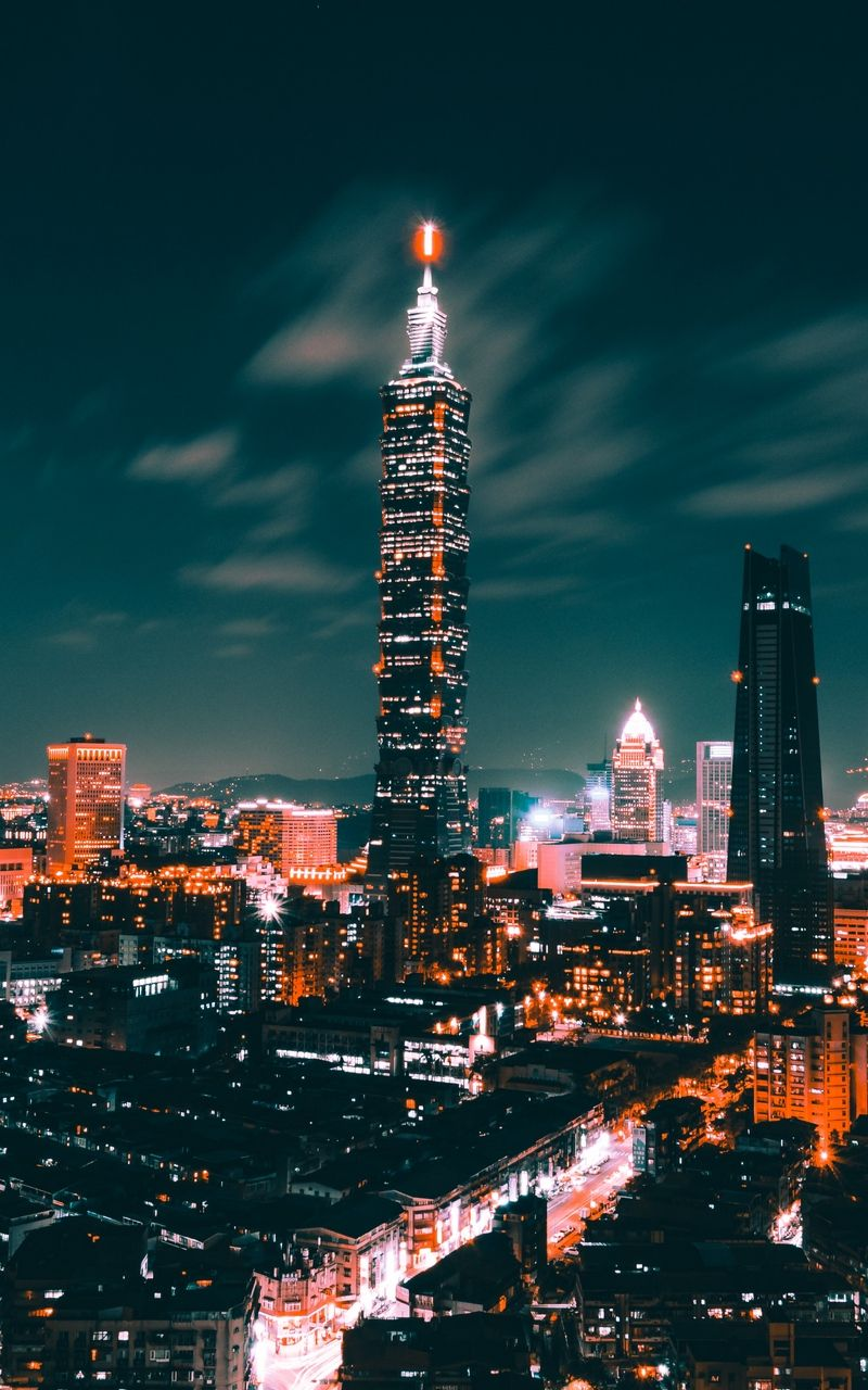 Taipei Taiwan In 2020 Cityscape Wallpaper City Aesthetic City Wallpaper