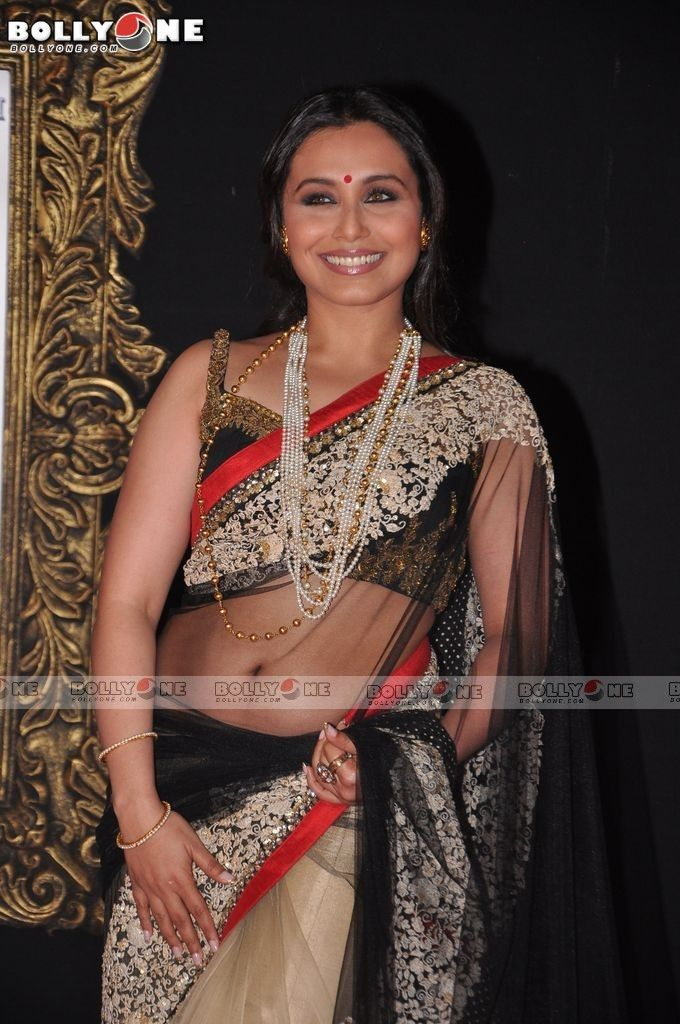 Hot saree transparent mukherjee rani