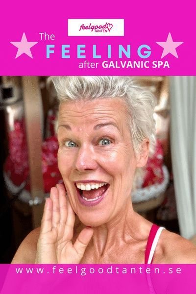 I´ve used this award winning homebeauty device Galvanic spa the last 4 years. The results are stunning! My skin is healthy and radiant and I always get a happy and glamorous feeling after a treatment. Looking forward to connect with you and tell you more. Kram från Feelgoodtanten