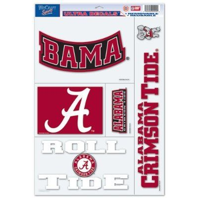 University Of Alabama Ultra Decal 11x17   My Style   Pinterest ...
