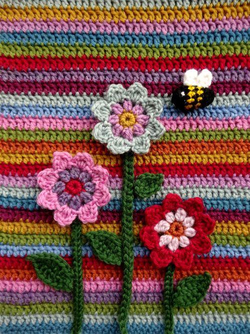 Flora\'s Flowers | Pinterest | Ganchillo, Flores ganchillo y Flores ...