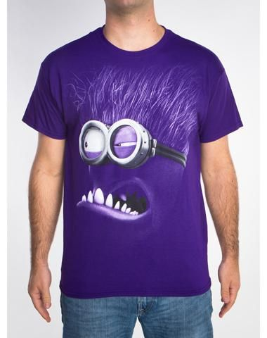 Despicable Me Evil Face Tee
