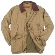 SCHNEE'S Powder Horn Field Coat in khaki.  The ultimate field coat.  $379