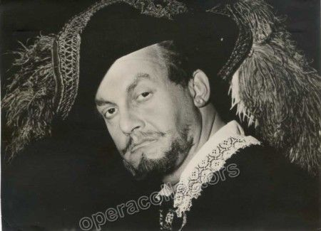 Gobbi, Tito - Signed Photo as Don Giovanni
