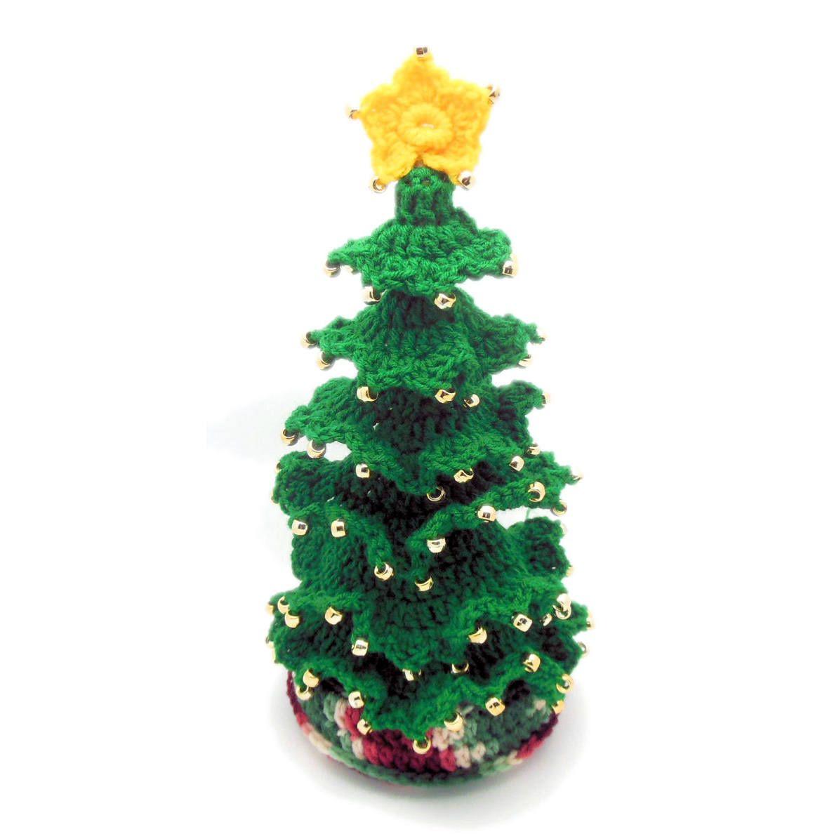 Little Fir Christmas Tree - A free Crochet pattern from Julie A ...