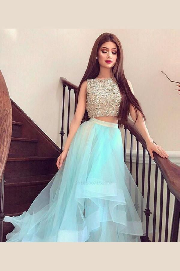 dc65c19db3a4 Sequin Prom Dress, Long Prom Dress, Homecoming Dresses Cheap, Prom Dress  Two Piece, Cute Homecoming Dresses #Long #Prom #Dress #Two #Piece #Sequin # Cute ...