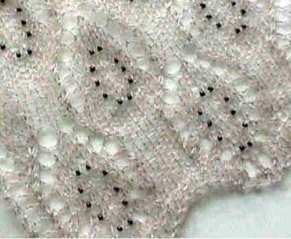 Beaded lace scarf detail knittingcrochet pinterest beaded beaded lace scarf detail dt1010fo