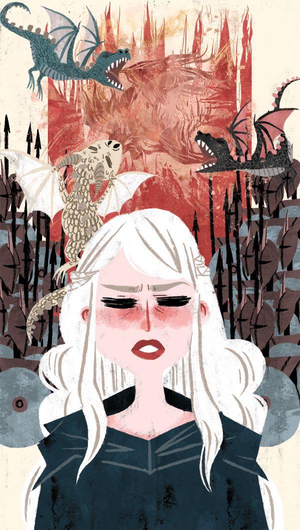 Daenerys by Katherine Kuehne