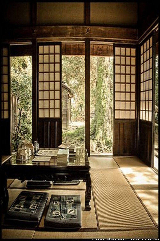 40+ Amazing Traditional Japanese Living Room Decorating ...