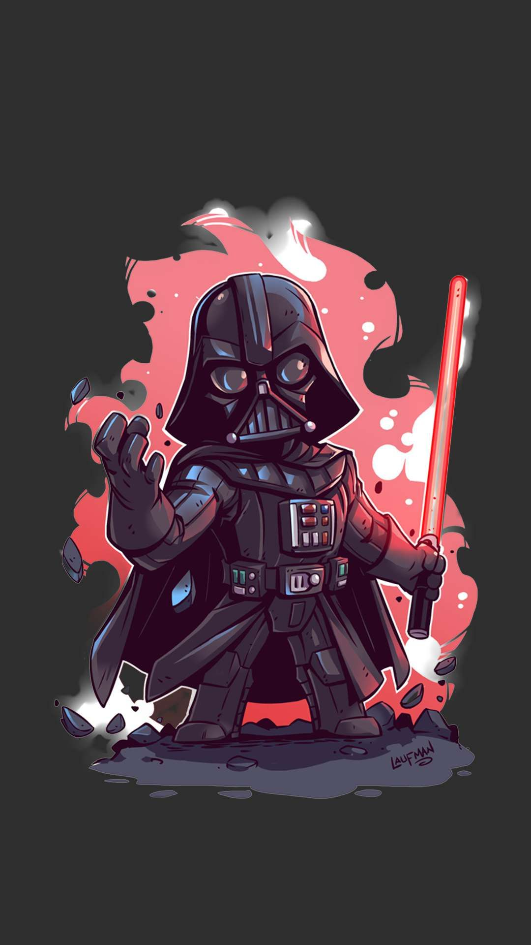 Darth_Vader_Star_Wars iPhone Wallpaper Star wars fan art