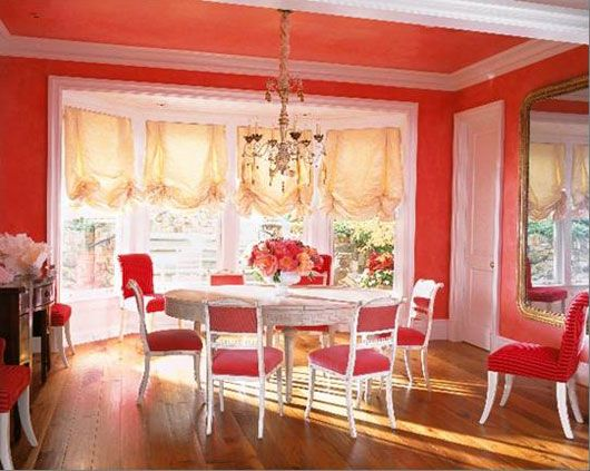 39 Bright And Colorful Dining Room Design Ideas DigsDigs A LA