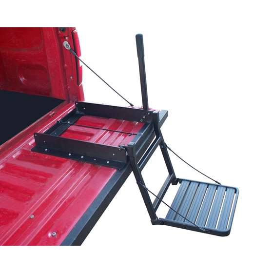 Truck N Buddy Tailgate Ladder For Bed Covers by Great Day