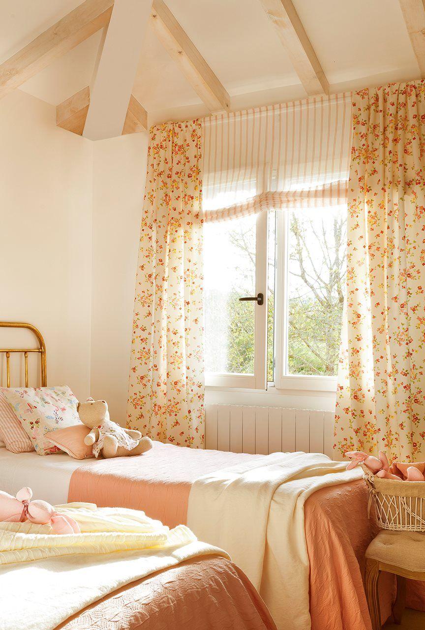 Una cortina para cada ventana casa cortinas para for Cortinas habitacion juvenil