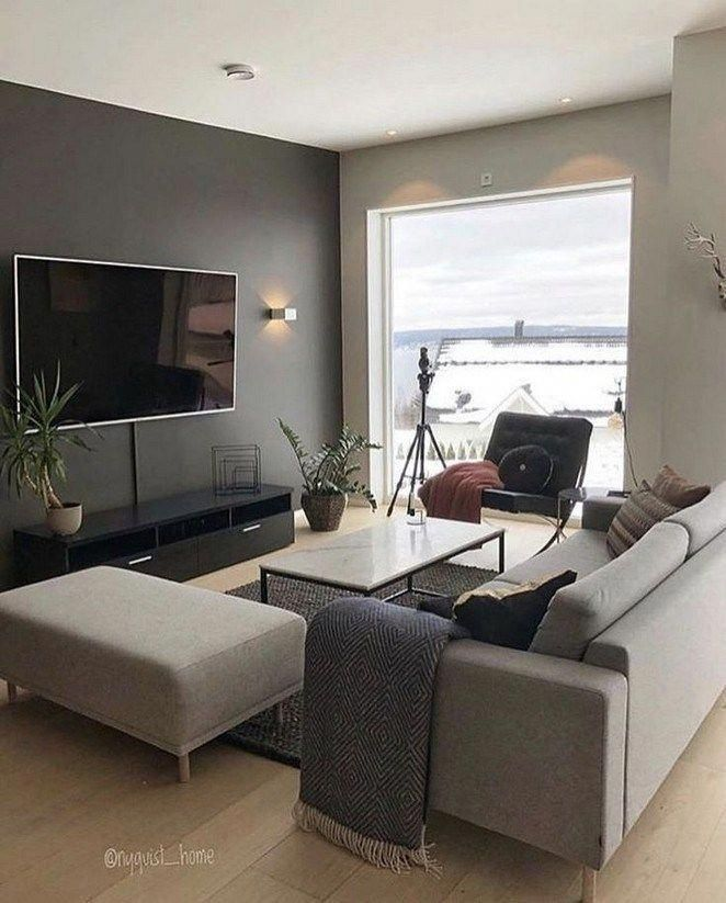 30 Unique Small Living Room Design Ideas For Your Apartment Livingroomdecor In 2020 Living Room Decor Apartment Small Living Room Design Modern Chic Living Room