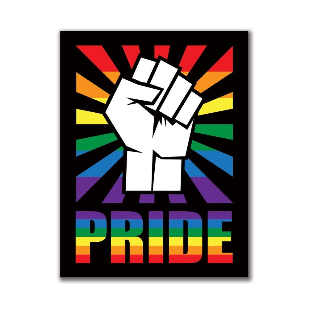 raised fist - pride edition