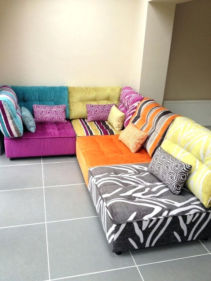 modular floor cushions sofas front view of 2 corner and