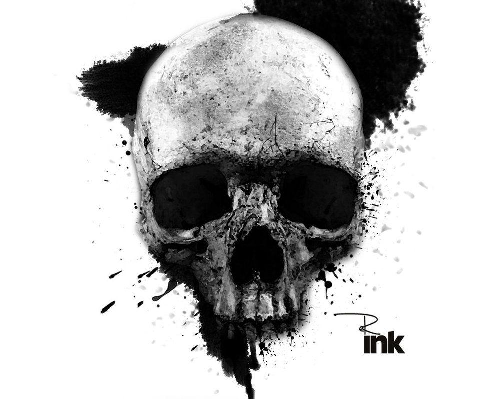 Er Ink Skull Collage 3 Skull Art Skull Skull Tattoo Design