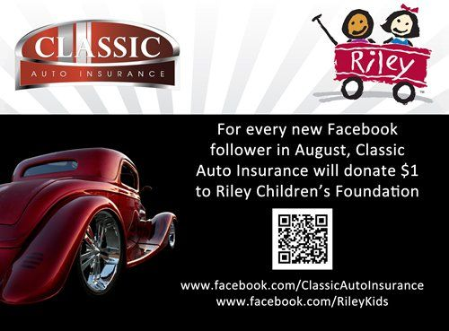 classic auto supports riley children s foundation for kids in need rileyhospital charity
