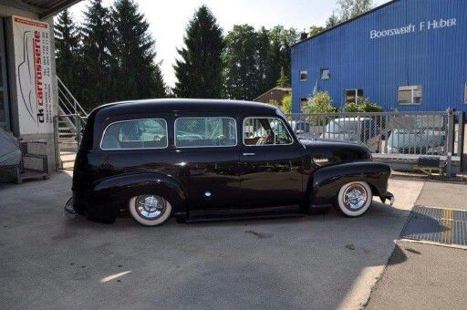 Chev Chevy Chrvrolet Advanced Design Suburban 1947 1948 1949 1950
