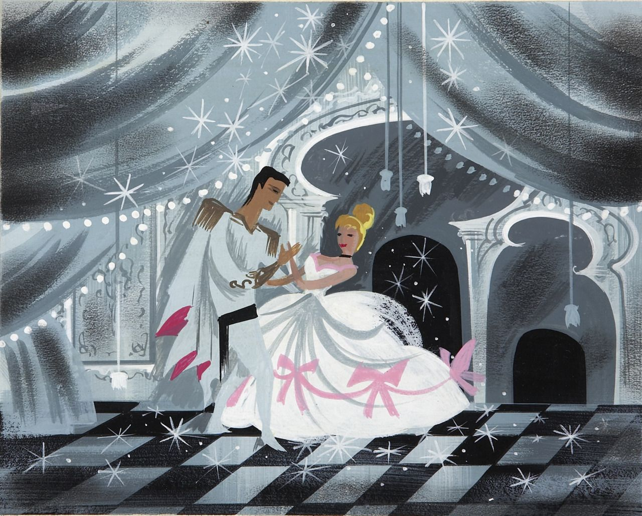 Cinderella (1950) concept art by Mary Blair   Animation Character ...