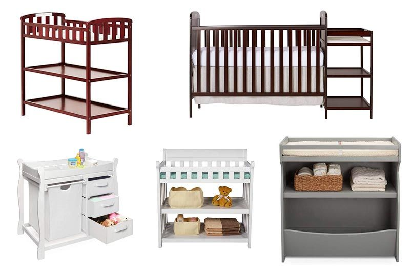Best Baby Changing Table For Small Spaces In Review 2018 Table