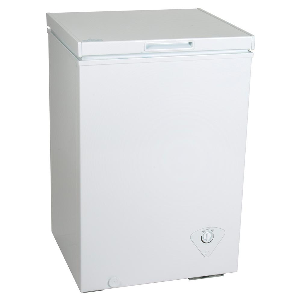 Koolatron Kool 3 5 Cu Ft Chest Freezer In White Ktcf99 Chest