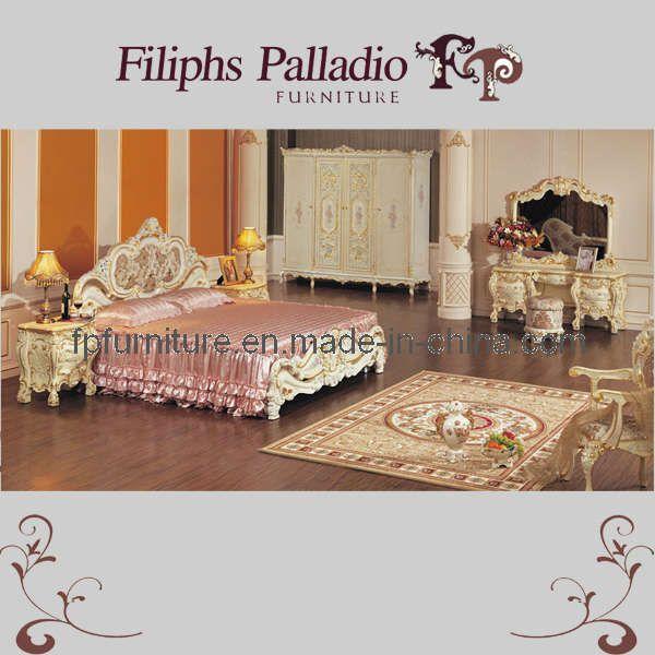 baroque bedroom | Baroque Style Furnitures - Hand Carved Bedroom Furniture (Siena)