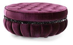Modern Velvet Ottoman Velvet Ottoman Purple Furniture Ottoman