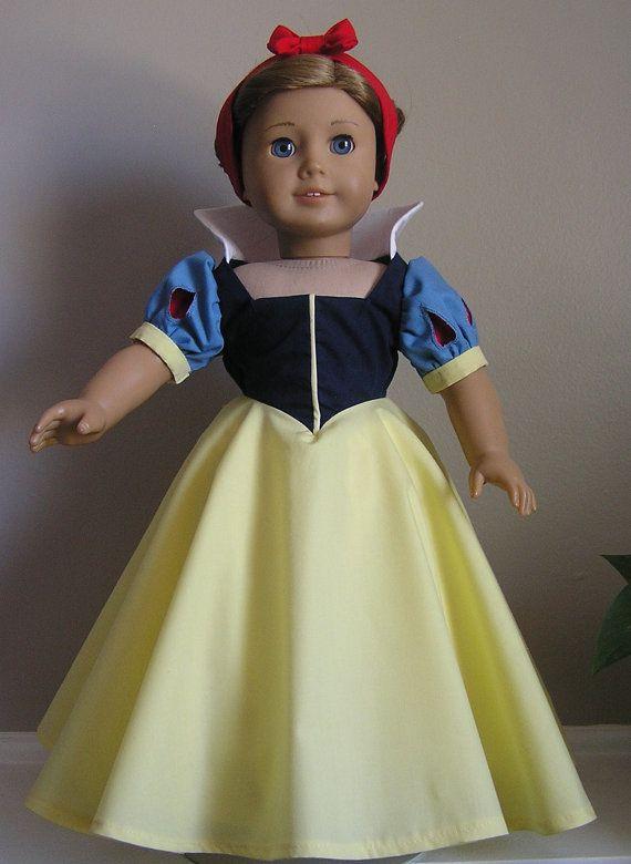 Original Design Snow White Peek-a-Boo Sleeve Dress and ...  Original Snow White Costume