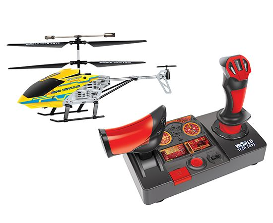 Nano Hercules Unbreakable Helipilot 2.4GHz 3.5CH RC Helicopter #techtoys