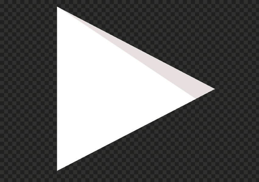 Hd Youtube Yt White Triangle Symbol Play Icon Png In 2021 Triangle Symbol Symbols Triangle