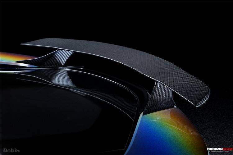 Darwin Pro Bmw I8 Bzk Carbon Fiber Rear Trunk Spoiler Wing Aero