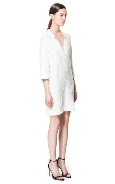 SEQUINNED TUNIC DRESS Woman New this week ZARA Canada