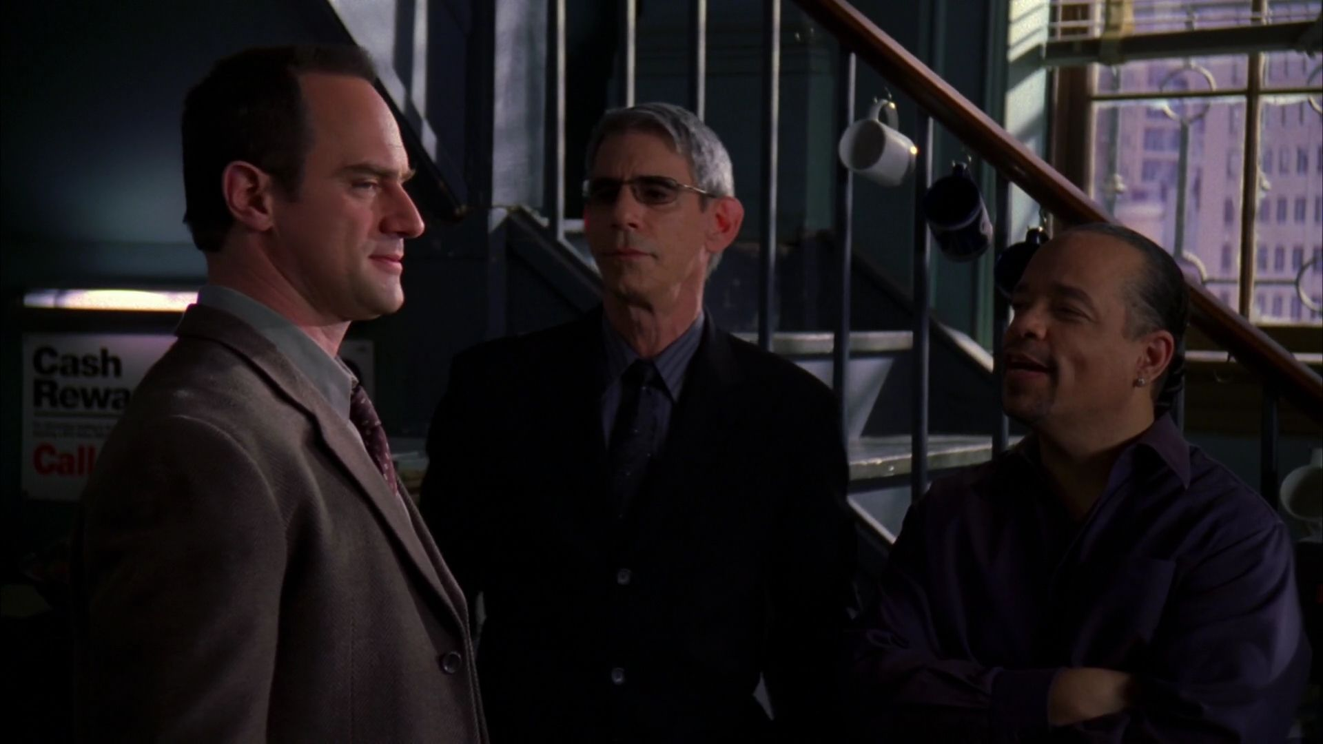 Elliot Stabler John Munch Fin Tutuola Season Eight Law And Order Svu Law And Order Svu