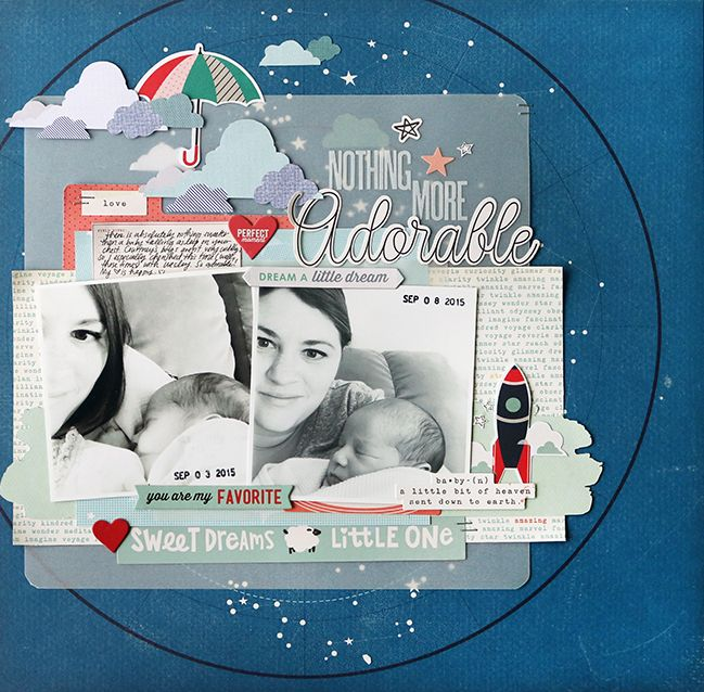 paper: pretty paper. true stories. {and scrapbooking classes with cupcakes.}: Weekly Challenge :: Scrapbook with Vellum