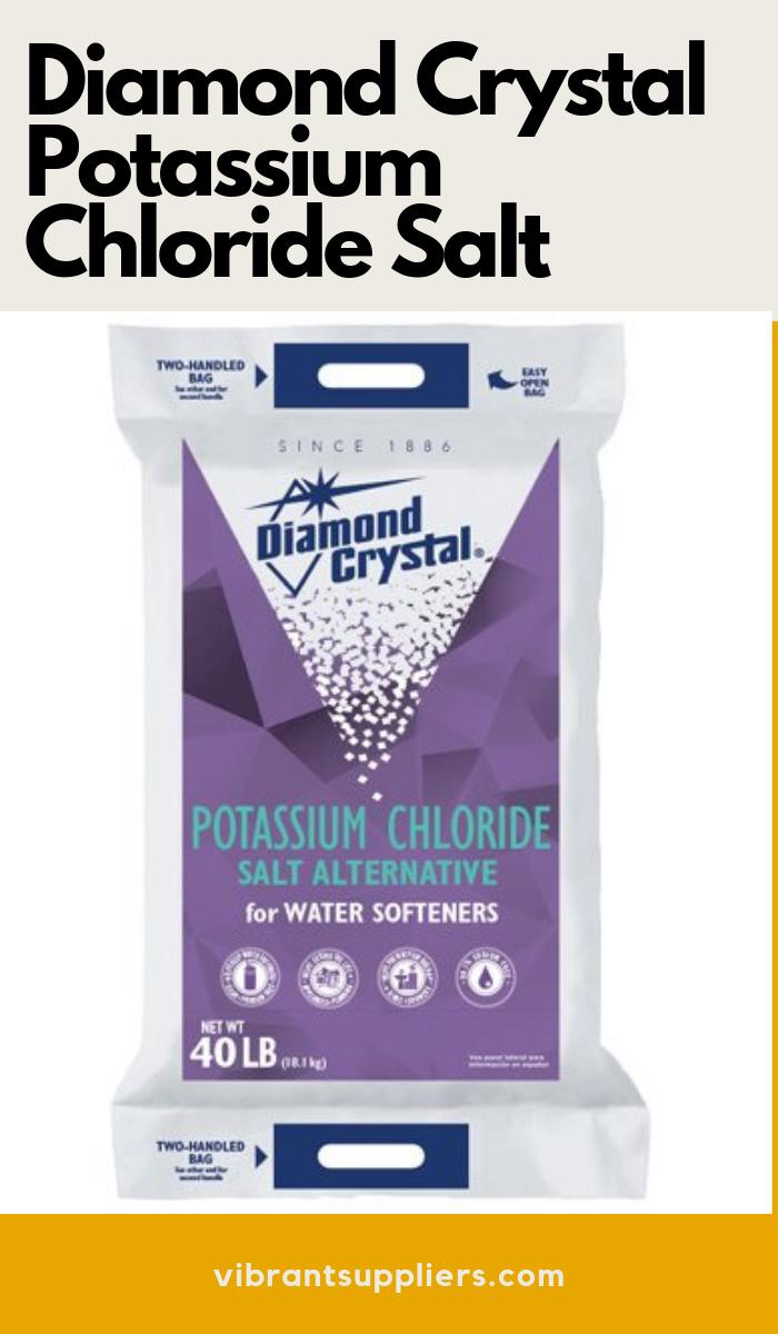 Diamond Crystal Potassium Chloride Salt Water Softener Salt Alternatives Water Softener Salt