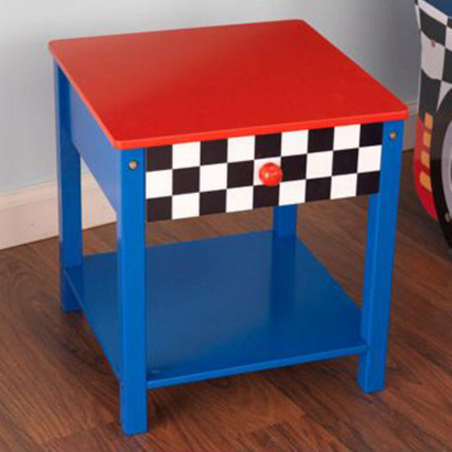 Incredible Kidkraft Race Car Side Table 76041 76041 Products In Download Free Architecture Designs Scobabritishbridgeorg