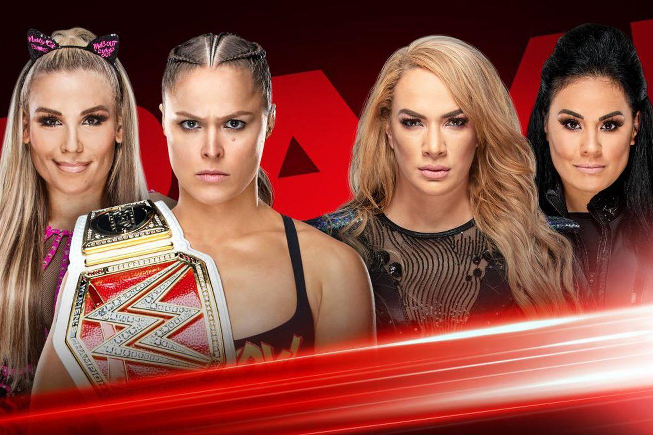 Since talking didn't work, Ronda & Nia will try wrestling