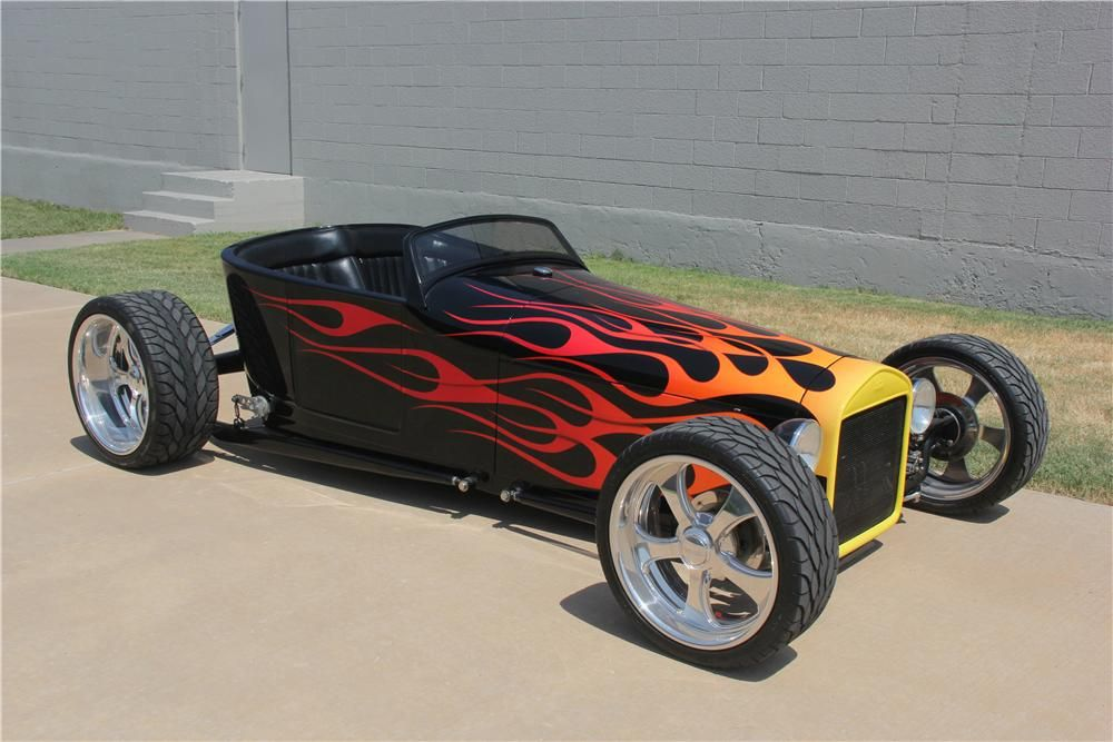 1923 FORD T-BUCKET CUSTOM ROADSTER, I like it, but I would have used ...