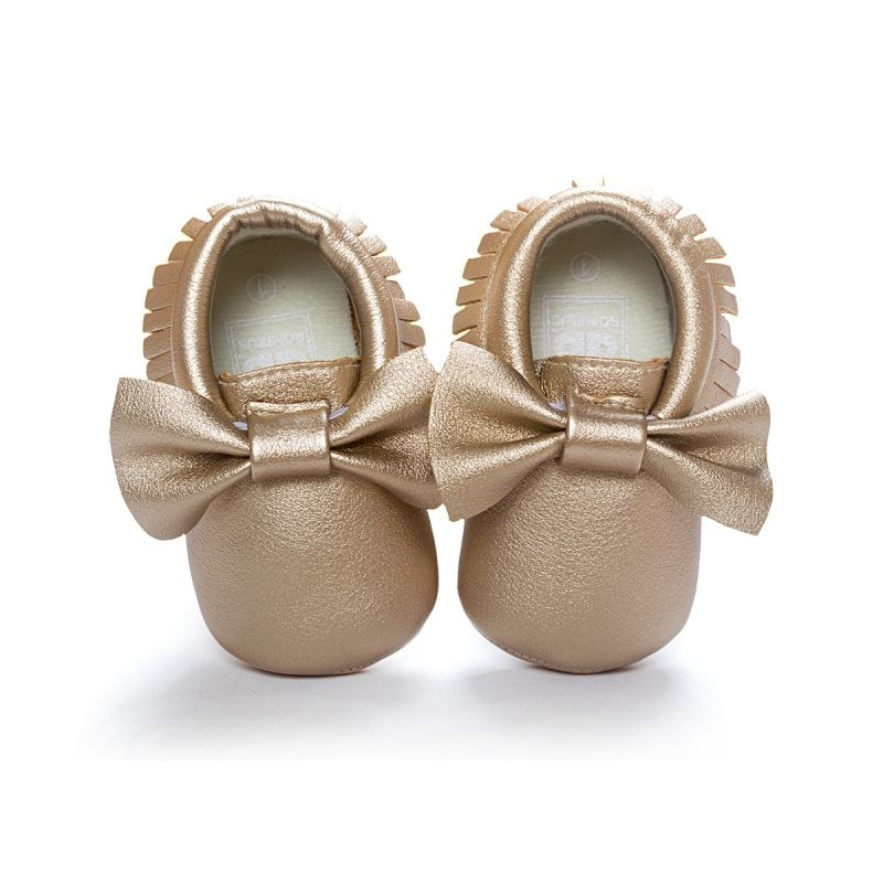 Unisex Baby Girl Boy 0 18months Toddlers Soft Sole Shoes Tassel Pu Leather Crib Bow Shoe 14 Colors Py3 In First Walkers From Moth Rumbai Sepatu Bayi Baby Shoes